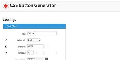 CSS Buttun Generator