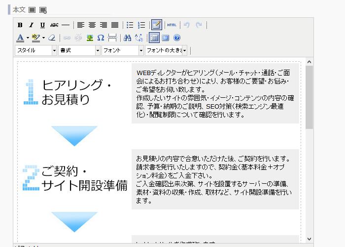 日記・ページ登録画面で登録したファイルの利用